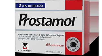 Prostamol - integratore alimentare a base di Serenoa Repens